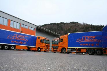 Sigr Bizjak tovorna vozila/iz strani