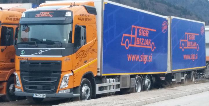 Sigr Bizjak tovorno vozilo