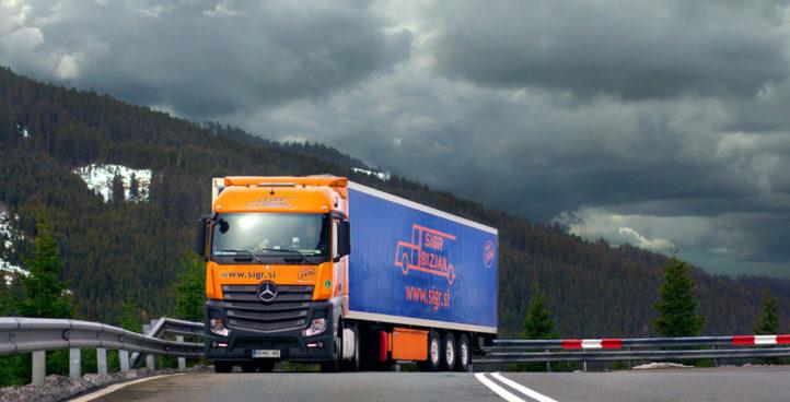 Sigr Bizjak tovorno vozilo med vožnjo#2