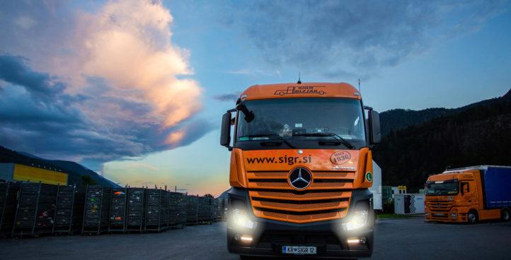 Sigr Bizjak tovorno vozilo/spredaj
