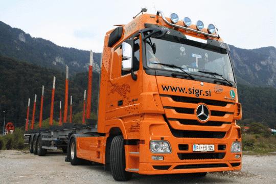 Tovorno vozilo-brez tovora