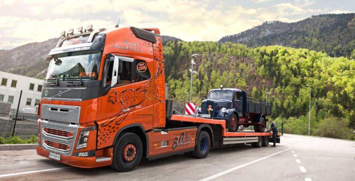 Vlečenje tovornjaka