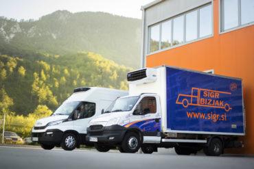 Sigr Bizjak transportna vozila