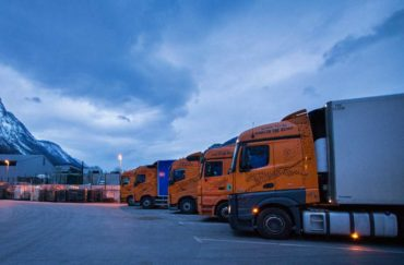 Parkirana transportna vozila